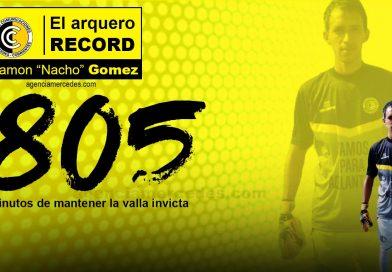 Nacho el arquero récord de Comunicaciones
