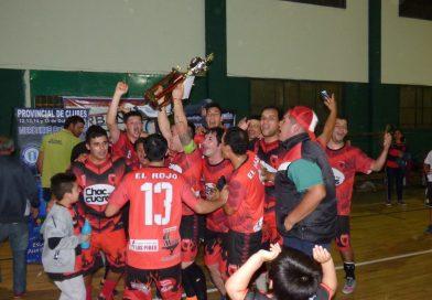 """FutSal – División """"B"""": El Rojo FC Campeón Clausura 2018"""