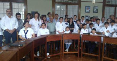 Sesión Especial con Escuelas Rurales Centenarias escuela